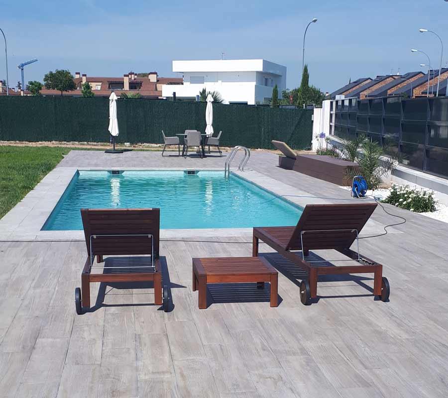 construcción de piscinas - empresa profesional